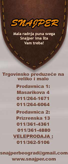 Oruzje Beograd Ko I Gde
